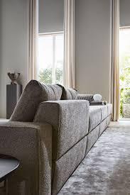 molteni divani divano modulare moderno in tessuto in pelle turner