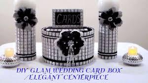 diy wedding card box diy glam wedding card box centerpiece