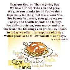a thanksgiving prayer prayer warrior thanksgiving
