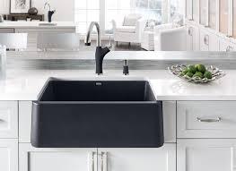 blanco metallic gray sink blanco ikon apron front single bowl kitchen sink blanco