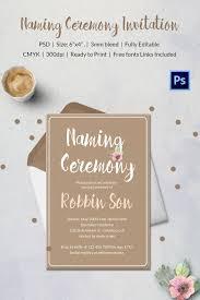 boy christening naming ceremony invitation invitations baby