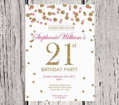 birthday invitation 21st birthday invite black and white edison