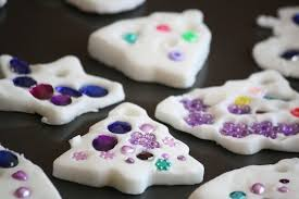 2 ingredient white clay dough ornaments dough ornaments clay