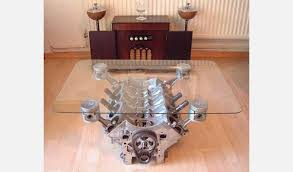 How To Make An Engine Block Coffee Table - 14 pieces of bad men u0027s furniture cool material