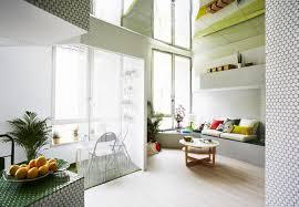 wohnraum wandgestaltung mosaik wandgestaltung in jedem raum kleinwohnung in madrid