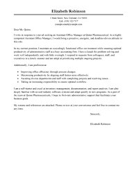 best admin assistant manager cover letter examples livecareer