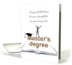 Congrats On Your Divorce Card Masters Graduation Card For Daughter From Greeting Card Universe