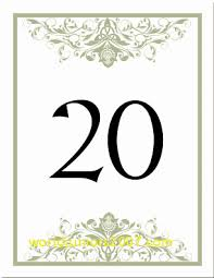 wedding table numbers template top result table numbers template for weddings fresh celtic wedding