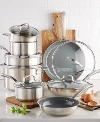 martha stewart kitchen collection culinary science by martha stewart collection 14 pc cookware set