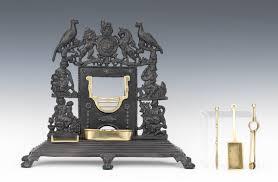 victorian miniature cast iron fireplace ca 1890 02 09 12 sold
