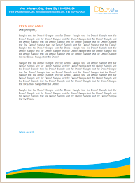 letterhead template for small business dotxes