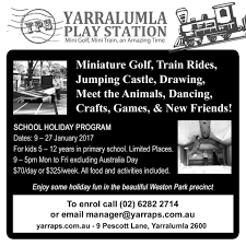 25 summer holiday programs in canberra 2016 canberra
