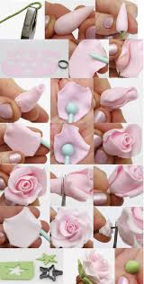 Easy Icing Flowers - best 20 fondant flowers ideas on pinterest fondant rose