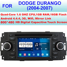 dodge durango stereo car radio android 4 4 4 stereo for dodge durango car dvd player
