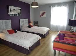 chambre mauve et grise peinture violet et gris idace peinture chambre couleurs aubergine