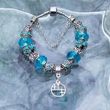 sterling pandora style bracelet images Pandora style turquoise stone bracelet with sterling silver 3rd jpg