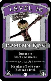 pumpkin king munchkin the nightmare before promotional card