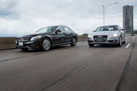 lexus vs audi a4 mercedes benz c class vs audi a4 compact luxury head to head