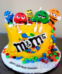 send u0026ms themed cake delivery pakistan giftoo pk
