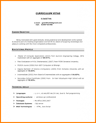 Asp Net Resume For Experienced Career Objective In Resume For Experienced Software Engineer