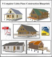 cabin blue prints ez house plans