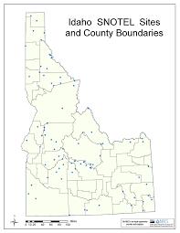 Idaho County Map Idaho Maps Page 2 Nrcs Idaho