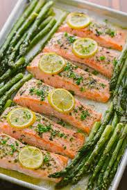 one pan salmon asparagus recipe video natashaskitchen com