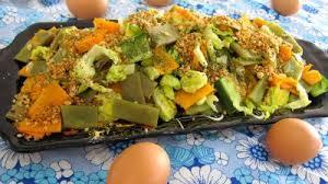 cuisiner des haricots plats haricots plats en salade recette entrées froides supertoinette