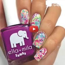 nail art noir stripped video dailymotion