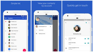 contacts android app contacts now available on any android phone with lollipop