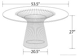 Dining Table Clearance Platner Dining Table Clearance Sale Platner Table Platner Dining