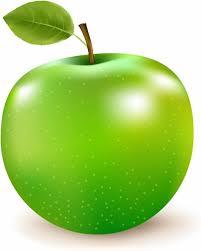 apple cartoon green apple free vector in adobe illustrator ai ai