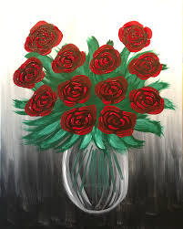 a dozen roses a dozen roses pinot s palette painting
