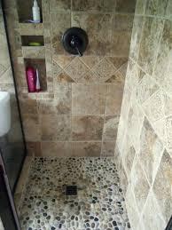 Shower Tile Installation River Rock Shower Tile Shower River Rock Shower Tile Installation