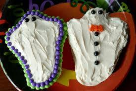 ghost cakes halloween