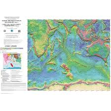 Map Of Oceans Map Of The Indian Ocean Ccgm Cgmw
