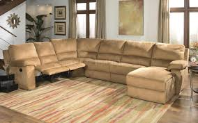 Living Room Sectional Sofas Sale Micro Suede Contemporary Reclining Sectional Sofa