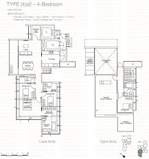 Singapore Floor Plan One Balmoral Floor Plan 4a2 Property Fishing