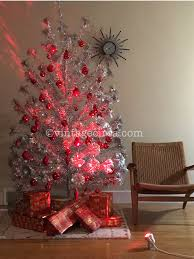 Evergleam Aluminum Christmas Tree Vintage by Make Your Vintage Aluminum Foil Christmas Tree Come Alive Check