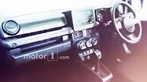 purple jeep interior 2018 suzuki jimny leaked interior indian autos blog