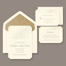 Wedding Program Paper Kits Invitations Gold Glitter U0026 Foil Dot Invitation Kit 30 For 40