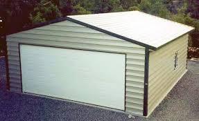 building a 2 car garage 2 car steel garage image