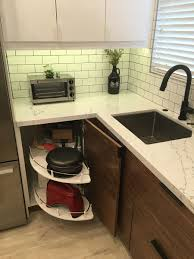 blind corner kitchen cabinet inserts maximizing your kitchen storage with ikea cabinet hacks