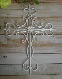 home decor crosses white metal cross wall art religious cross home decor cross