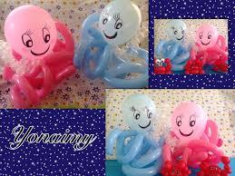 como hacer un pulpo con globos balloon octopus sirenita