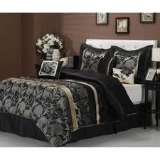 King Black Comforter Set Classy Bed Sheet And Comforter Set With Black Euro Sham Cover With