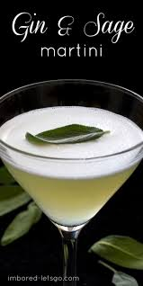 gin sage martini recipe simple syrup happy hour and gin