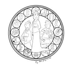 disney mandala coloring pages archives mente beta complete