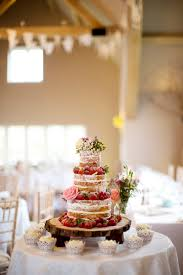Wedding Cake Ideas Rustic A Rustic Wedding At Hyde Barn In Stow On The Wold With A Pale Pink
