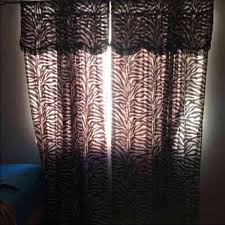 Zebra Curtain Panels Zebra Closet Curtains Roselawnlutheran